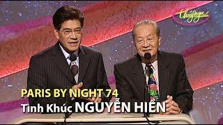 Download Paris By Night 74 - Tình Khúc Nguyễn Hiền Video