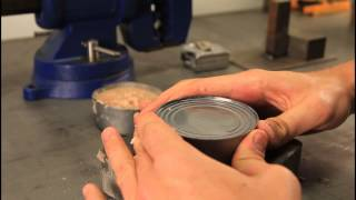 Download How to Open a Can without Can Opener - Zombie Survival Tips #20 Video