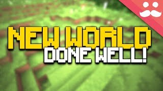 Download 50 Steps to STARTING A NEW MINECRAFT WORLD PROPERLY! Video