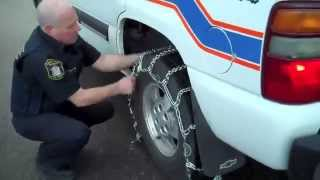 Download Safety First: 8 Steps to Installing Winter Tire Chains Video