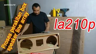 Download Cara buat bok line array la210p Video