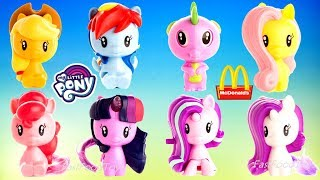 Download 2018 McDONALD'S MY LITTLE PONY HAPPY MEAL TOYS MLP CUTIE MARK CREW FULL WORLD SET 8 KIDS EUROPE ASIA Video