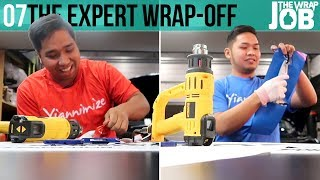 Download The Experts Wrap Off - The Wrap Job ep07 Video