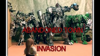 Download Junkyard Evacuation + Abandoned Town Invasion - Transformers The Last Knight Stop Motion Video