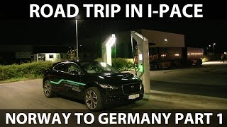 Download #52 Jaguar I-Pace from Norway to Germany part 1 Video