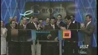Download Google - First day of trading as public company Video