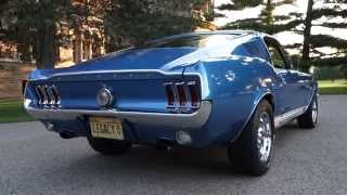 Download 1967 Mustang GT Fastback 2+2, S Code 390, 4 Speed! @ NationalMuscleCars National Muscle Cars Video