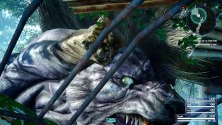 Download FINAL FANTASY XV - Deadeye Boss Fight l A Behemoth Undertaking Quest [PS4 Pro] Video