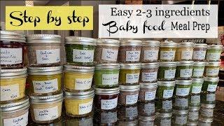 Download Step by step babyfood meal prep    2-3 ingredients baby food diy Video