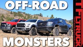 Download Ultimate Off-Road Mashup! Chevy ZR2 vs Ford Raptor vs Ram Power Wagon: Which Truck Rules? Video