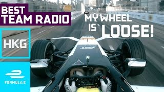 Download ″My Wheel Is Loose!″ | Best Team Radio Hong Kong Round 1 | Formula E Video