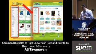 Download JWC 2016 - Common Obstacles to High Conversion Rate... - Ali Tavanayan Video