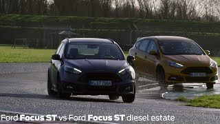 Download Focus STs go head-to-head at Castle Combe Video