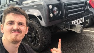 Download Crazy Driver Smashed into my Defender! Video