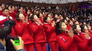 Download North Korean cheerleaders stealing the show at Winter Olympics Video