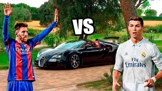 Download Los COCHES de MESSI VS los COCHES de CRISTIANO RONALDO !! Video