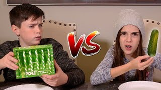 Download CANDY CANE vs REAL FOOD!! Video