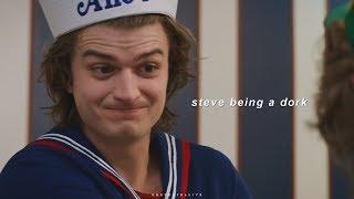 Download steve harrington being a dork. Video