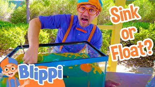 Download Science Videos for Kids with Blippi | Sink or Float Video
