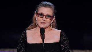 Download How Will 'Star Wars' Handle Carrie Fisher's Death? Video
