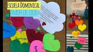 Download Manualidades para la Escuela Dominical/El amor de Dios y al prójimo Video