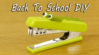 Download Back To School DIY with Sugru Video