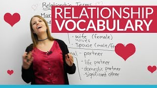 Download Learn English Vocabulary: The people we LOVE ❤ – spouse, girlfriend, partner, husband... Video