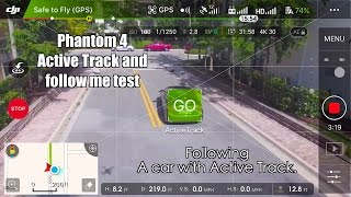 Download Phantom 4🚗🚁 active track Follows a CAR :) in 4k Video