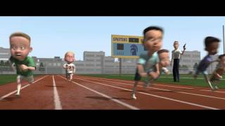Download The Incredibles race scene Video