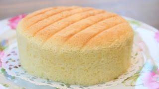 Download How To Make Super Soft Sponge Cake | Butter Sponge Cake Recipe | 像棉花般柔软的蛋糕-棉花蛋糕 | 燙麵法 Video
