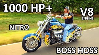 Download BOSS HOSS Amazing V8 Power Motorcycles Video