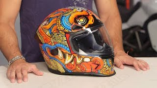 Download ICON Airframe Pro Barong Helmet Review at RevZilla Video