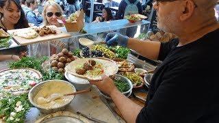 Download FALAFEL SANDWICH WRAPS - Delicious Middle Eastern Vegetarian Street Food In London. Video