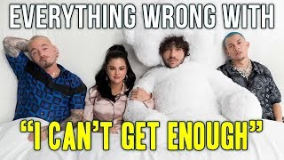 Download Everything Wrong With benny blanco, Tainy, Selena Gomez, J Balvin - ″I Cant Get Enough″ Video