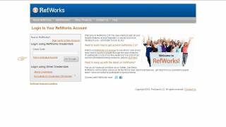 Download 1.1 Accessing Legacy RefWorks, Creating an Account, and Logging In Video