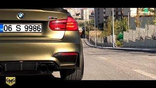Download BMW M3 Matte Gold Black Kaplama /// BMW M4 Renk Değiştiriyor !!! (GMG GARAGE) Video
