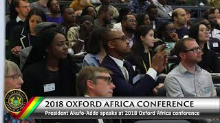 Download President Akufo-Addo Speaks at the 2018 Oxford Africa Conference Video