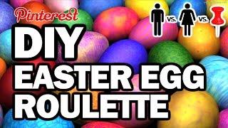 Download DIY Easter Egg Roulette - Man Vs Corinne Vs Pin + Giveaway Video