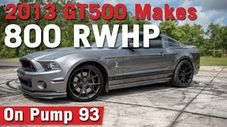 Download VMP Performance | 800+ RWHP Shelby GT500 on Pump 93 Video