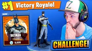Download The BATMAN CHALLENGE in Fortnite: Battle Royale! Video