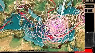 Download 8/17/2017 - Global Earthquake Update - Large rare M6.8 strikes Central ATLANTIC Ocean Video