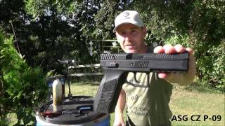 Download Gas vs. Co2 TEST - ASG CZ P09 Video