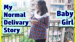Download MY LABOR & NORMAL DELIVERY STORY   BABY Delivery Vlog Video   INDIAN MOM ON DUTY Video