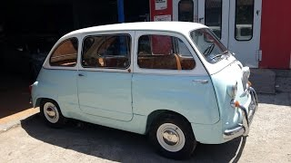 Download RESTAURO FIAT 600 MULTIPLA DEL 1965 Video