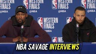 Download MOST SAVAGE NBA INTERVIEWS 2019 SEASON Video