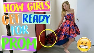 Download How Girls Get Ready for Prom! | Sasha Morga Video