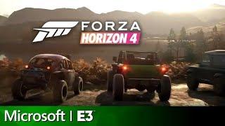 Download Forza Horizon 4 Full Reveal Presentation   Microsoft E3 2018 Press Conference Video