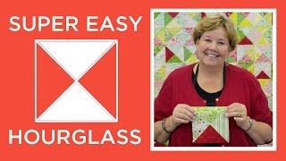 Download Make a Super Easy Hourglass Quilt with Jenny Doan of Missouri Star! (Video Tutorial) Video