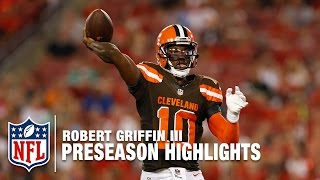 Download RGIII 2016 Preseason Full Highlights | Cleveland Browns | NFL Video
