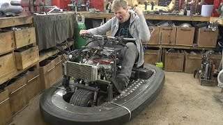 Download Squeezing 600cc 100BHP Engine in a Bumper car #2 Colin Furze Top Gear Project Video